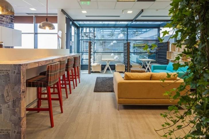 Joburi vacante în firme care şi-au transformat sediile în adevărate oaze de relaxare