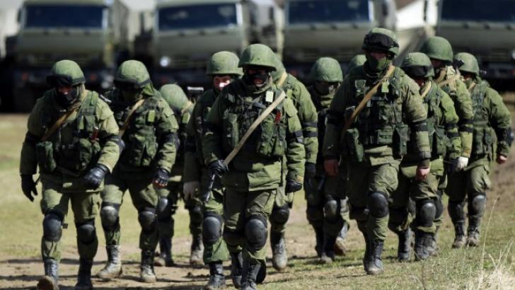 Anunţ de ultimă oră al Rusiei. 96 de unităţi militare au fost desfăşurate