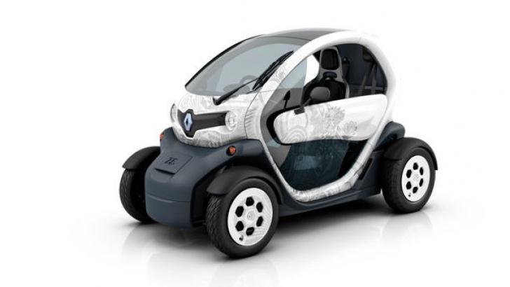 Renault Twizy poate fi condus de la 14 ani! Unde şi în ce condiţii