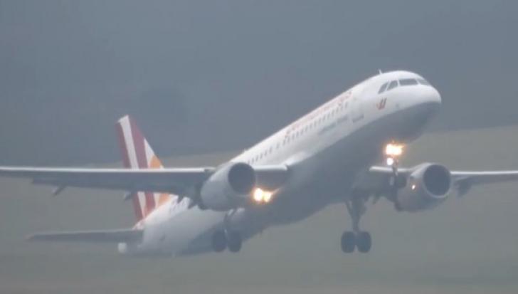 Ultimele imagini cu avionul Germanwings prăbuşit în Alpi