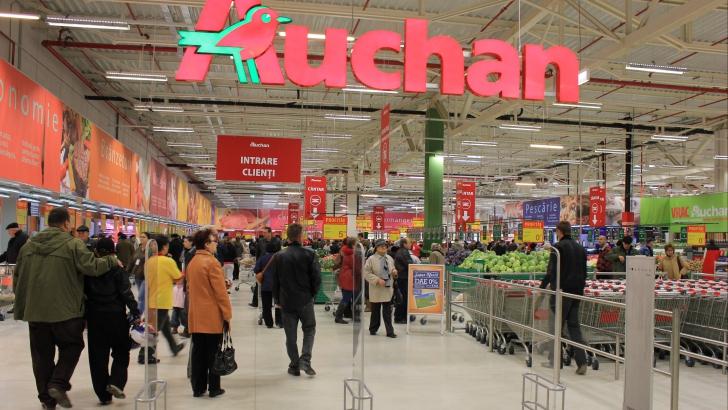 Lovitură cruntă pentru Auchan