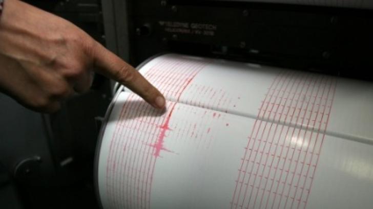 Cutremur în Vrancea, vineri dimineaţă