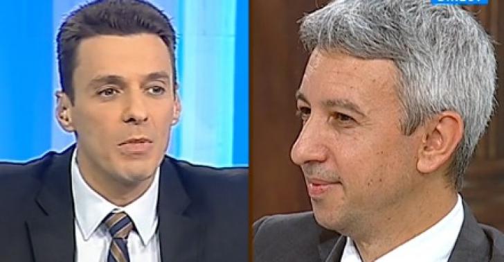 Cei doi realizatori TV într-un dialog la Antena3