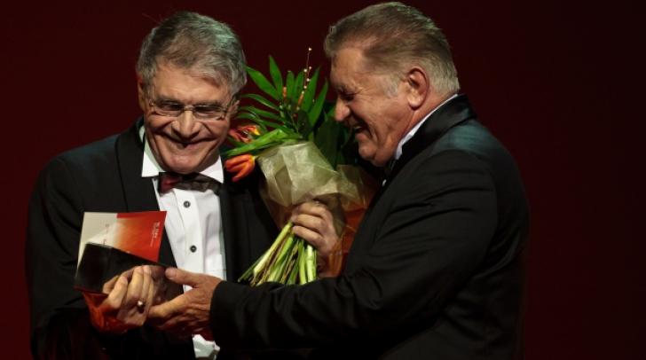 George Motoi a primit premiul pentru întreaga carieră de la Dorel Vişan
