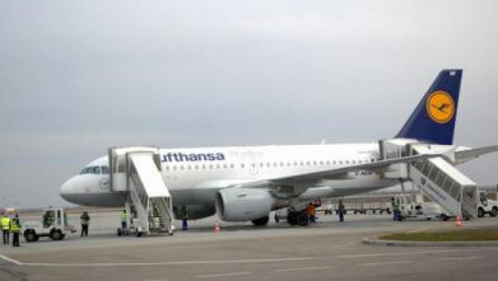 Curse aeriene anulate în România din cauza grevei piloților de la Lufthansa