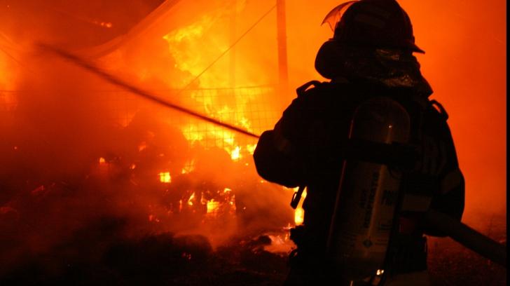 Incendiu Reghin