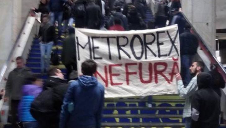 Halucinant: Cum răspunde Metrorex la protestul bucureștenilor de sâmbătă
