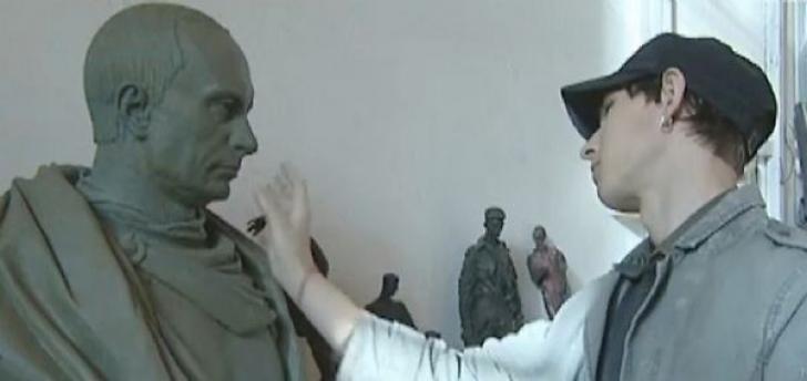 Statuie pentru liderul de la Kremlin