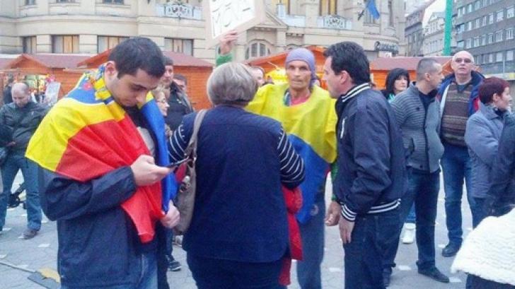 Protest eșuat la Timișoara