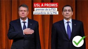 Una dintre imaginile postate pe pagina de Facebook a premierului Ponta