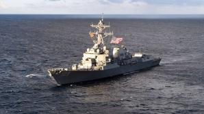 Distrugătorul american USS Jason Dunham