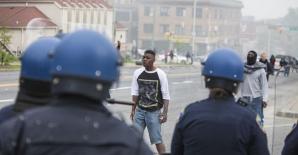 Violenţe la Baltimore