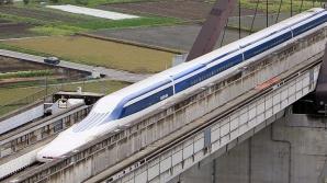 Trenul japonez care circulă cu aproape 600 de kilometri la oră