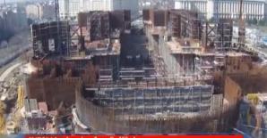 Viteză la construcţia Mântuirii Neamului
