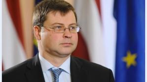Vicepreședintele Comisiei Europene: Suntem îngrijorați pentru stabilitatea financiară a României