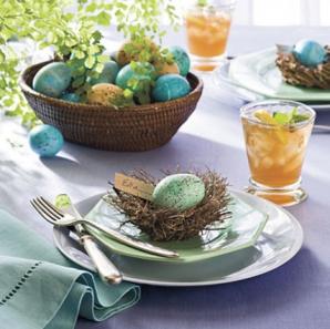 Cele mai spectaculoase aranjamente pentru masa de Paşte