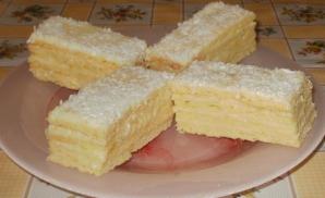 Prăjitură irezistibilă cu cremă de lămâie. Gata în 30 de minute!