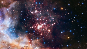 Imagine uluitoare. Un roi de 3.000 de stele strălucitoare