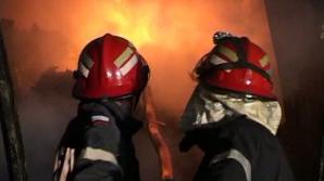 Incendiu la Satu Mare
