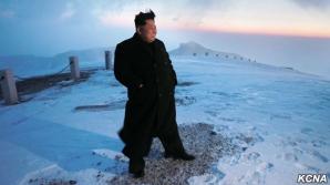 Kim Jong-un pe muntelePaektu