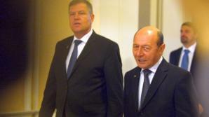 Prestaţie de preşedinte – Iohannis şi Băsescu faţă în faţă – ora 21.00