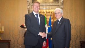 Președintele Italiei: A venit momentul ca România să fie parte a Schengen