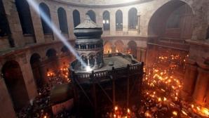 De unde vine Lumina de Paşte la Mormântul Sfânt