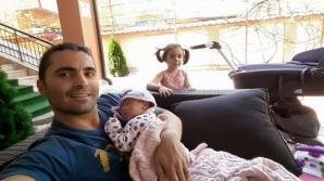 <p>Pepe, alături de fiicele sale</p>