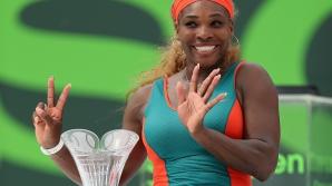 Serena Wiiliams este deținătoarea titlului la Miami