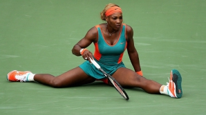 Serena Williams, seen by bad luck?
