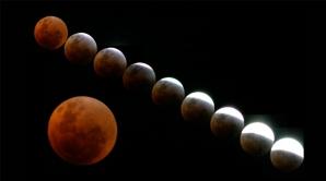 Luna, cea mai scurtă eclipsă