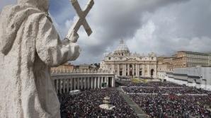 PAŞTELE CATOLIC. Papa Francisc a oficiat slujba de Înviere la Vatican
