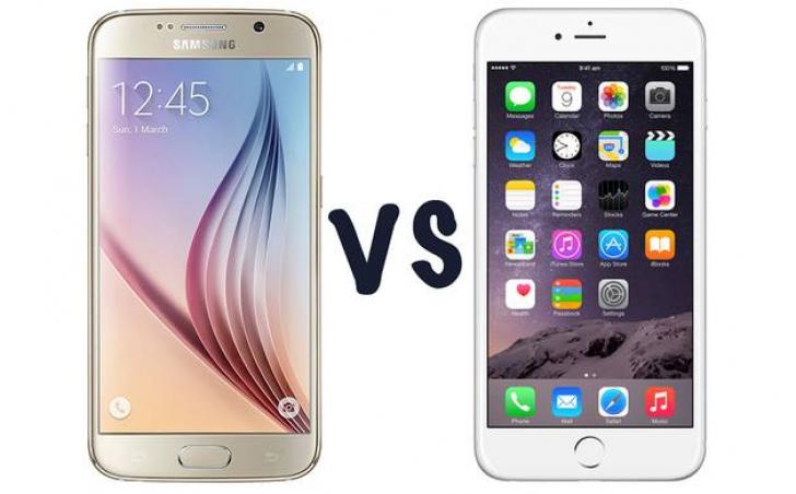 Păpădia arată diferența dintre Samsung Galaxy S6 și iPhone 6! FOTO