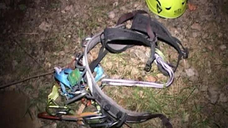 Un alpinist a căzut în gol de pe o stancă, într-o carieră din Baia Mare