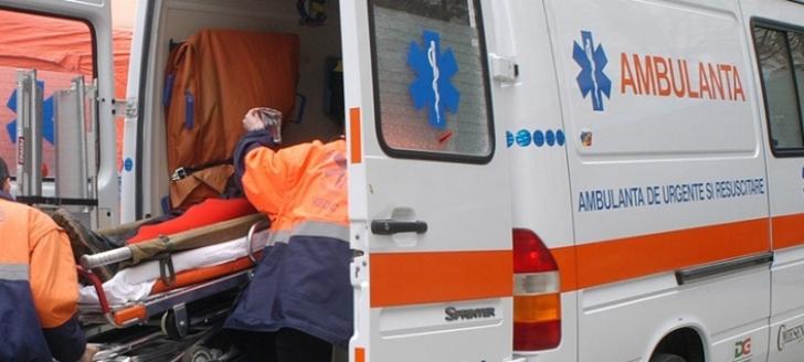 Accident în lanţ pe o stradă din Baia Mare