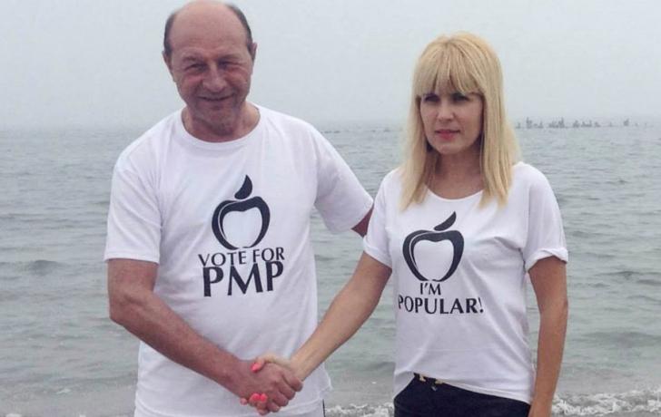 Traian Băsescu și Elena Udrea