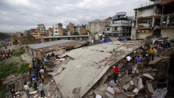 CUTREMUR NEPAL. Centrul istoric din Kathmandu, devastat de seism