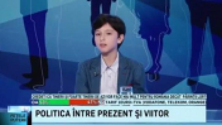 Un senator PSD, umilit de un copil de 10 ani, în cadrul unei emisiuni tv