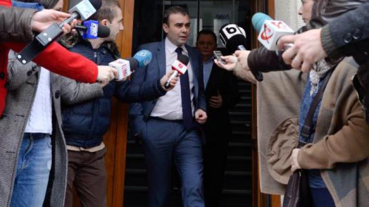 Darius Vâlcov a fost arestat preventiv, pentru 23 de zile