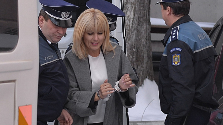 Elena Udrea, mutată din arestul central al Poliției, la Penitenciarul Târgșor