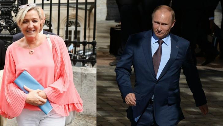 Moscova ar fi finanțat Frontul Național.Mesaje între Kremlin și Marine Le Pen, dezvăluite de hackeri
