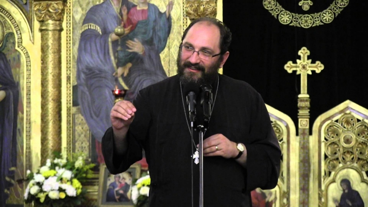 <p>Părintele Necula</p>