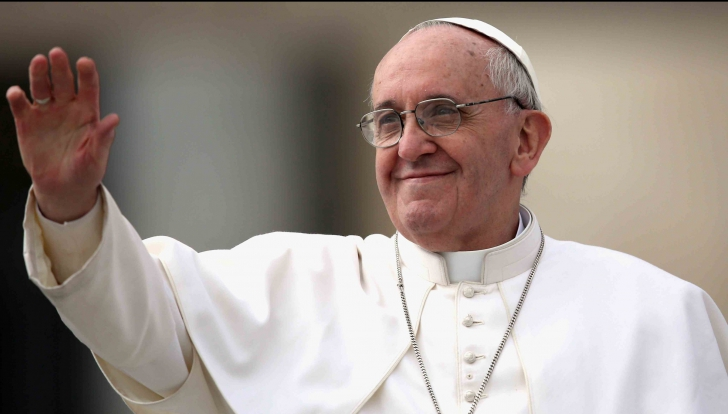 Monica Roşu i-a pregătit un cadou special Papei