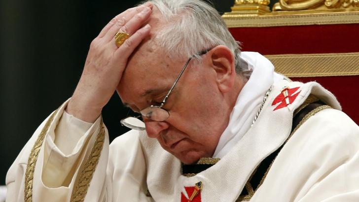 Papa Francisc a condamnat orice formă de antisemitism în Europa