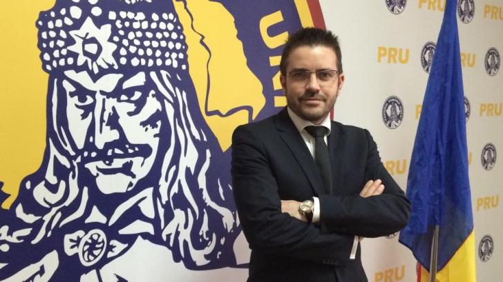 Deputatul Bogdan Diaconu a anunţat înfiinţarea oficială a Partidului România Unită