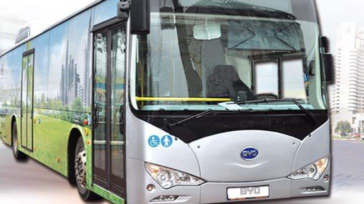 Două autobuze electrice vor circula pe linia 381 RATB