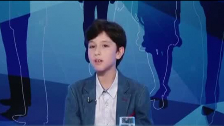 Un copil de zece ani îi dă lecții de politică unui senator PSD - VIDEO
