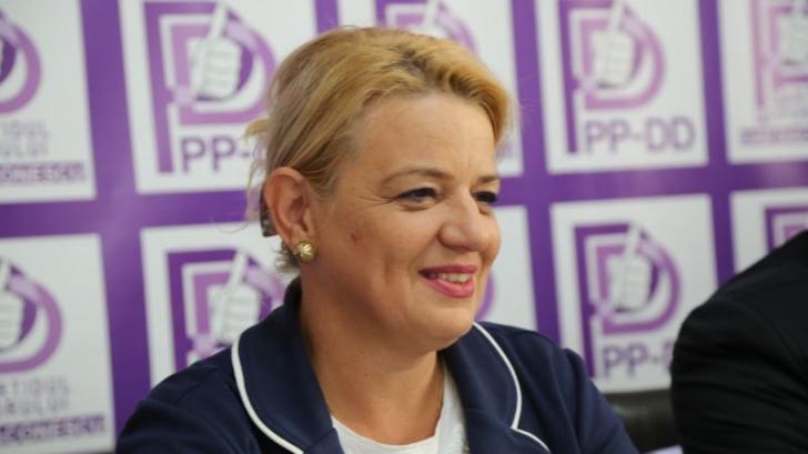 Președintele PP-DD, Simona Man, destituită de Ponta, de la șefia ANT