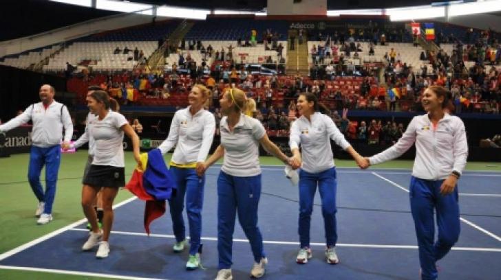 România Canada 3-2 în Fed Cup 2015