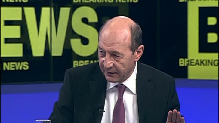 Traian Băsescu la Realitatea TV